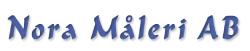 Logotyp Nora Måleri