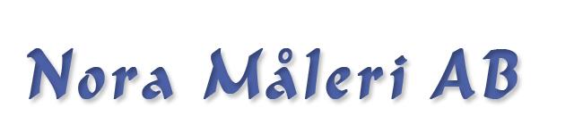 Logotyp för Nora Måleri